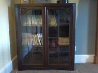 BOOKCASE GLASS FRONT