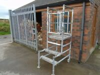 alloy scaffold work tower