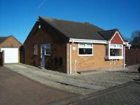 SUPERB 2 BED DETACHED BUNGALOW WITH DRIVE GARAGE LARGE CONSEVATORY...QUICK SALE
