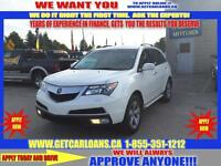 2011 Acura MDX 6-Spd AT*LEATHER*ROOF*AUTO START*BACK UP CAMERA*P
