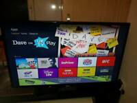 """Samsung 42"""" Smart LED TV FreeView HD 2 HDMI 1 USB Full HD 1080p Res Movies TV Shows (IPTV)"""