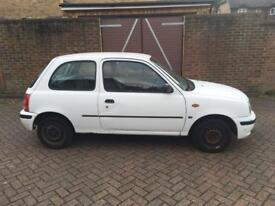Nissan micra full logbook one key started and drive £250