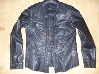 ALLSAINTS leather shirt/jacket Size L