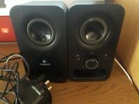Logitech stereo PC speakers