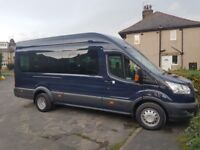 9 AND 17 SEATER MINIBUS FOR HIRE WITH DRIVER