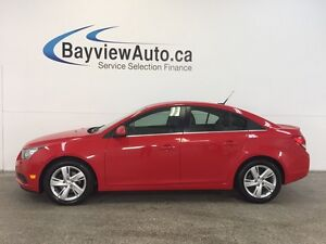 2014 Chevrolet CRUZE - TURBO! ECOTEC! REMOTE START! REV CAM!