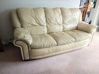 Leather Sofa......Now free to collect