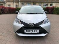 Toyota, AYGO, Hatchback, 2017, Manual, 998 (cc), 5 doors £0 road tax cat n