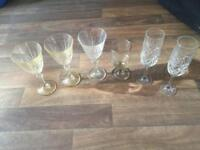 Free ! Six wine glasses
