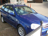 2006 06 low milage CHEVROLET ESTATE FSH TIMING BELT DONE COMPREHENSIVE MOT 2 KEYS HANDBOOK £1495