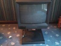 Vintage TV with digital converter