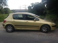Peugeot 307 1.6 not bmw ford fiat