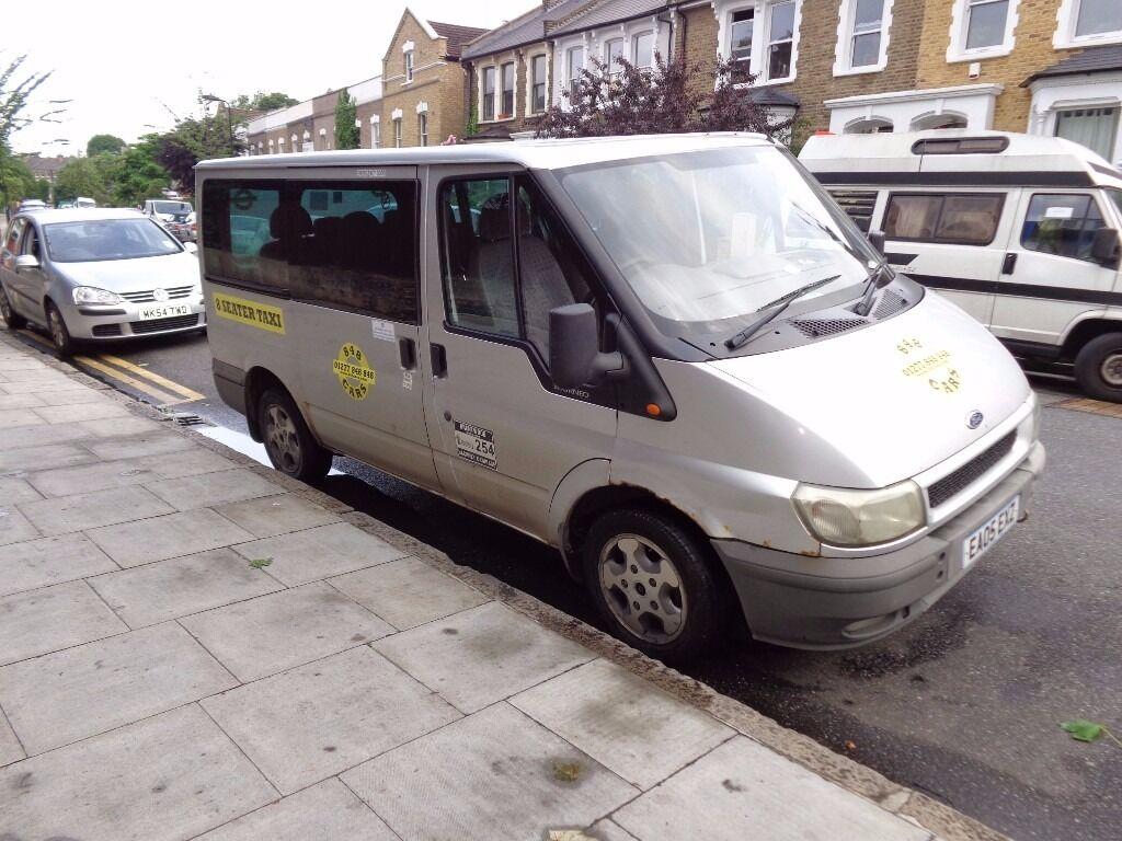 Ford transit minibus tourneo glx swb 2005 model