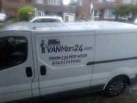 Mint condition clean works van