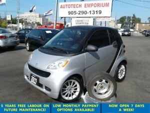 2011 smart fortwo Alloys, 2 Sets of Tires, A/C, SALE