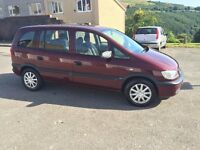 2004 Vauxhall Zafira 1.6 i 16v Club 5dr 7 seater petrol manual