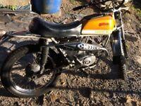 1972 fantic cabellero 49cc sports moped fsie/garelli/malaguti era