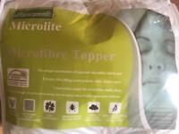Microfibre mattress topper - single 90x190 cm