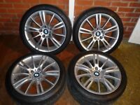 Bmw Mv3 18'' Staggered Alloy Wheels Can Sell Singles Can Sell Pairs Can Post Part Ex Welcome