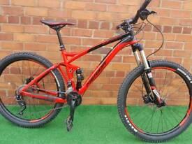 Merida one fourty full 500 full suspension mountain bike