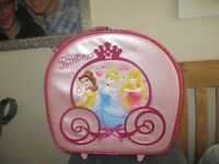 PRINCESS SUITCASE ON WHEELS