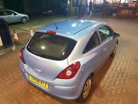 2009 vaxhall corsa 1.2 2 owners from new 12 months mot