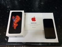 IPHONE 6S 64GB - UNLOCKED MINT CONDITION WITH APPLE WARRANTY TILL SEPT 2017