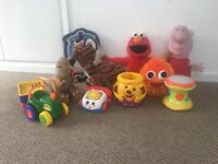 Toys and soft toy bundle