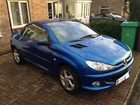 Peugeot 206cc Allure Hard Top Convertible - 58k Miles - 05 Plate