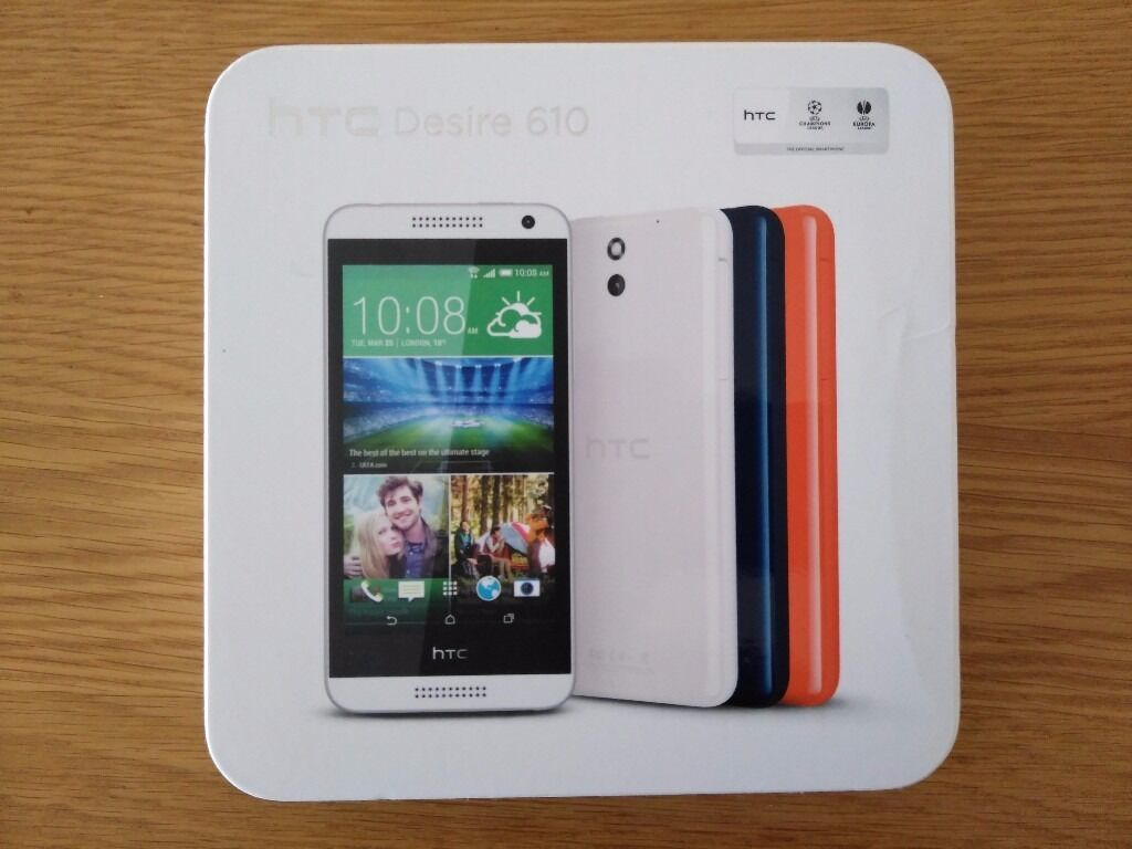 HTC Desire 610 8GB White colourin Birmingham, West MidlandsGumtree - HTC DESIRE 610 WHITE CONDITION GRADE B PREOWNED GOOD CONDITION PHONE IS RATED AS 9/10. FULLY WORKING CONTENTS 1 X HTC DESIRE 610 1 X CHARGER