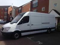 VAN WITH MAN SOFA BED WARDROBE 24/7 COLLECTIONS AND DELIVERY AROUND UK AND EUROPE