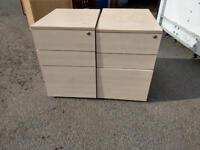 A set of pedestals filing on clearance at just £15 each