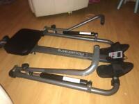 Body sculpture digital rowing machine