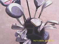 Golf clubs includes everthing to play