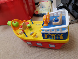 John Lewis Pirate Activity Boat