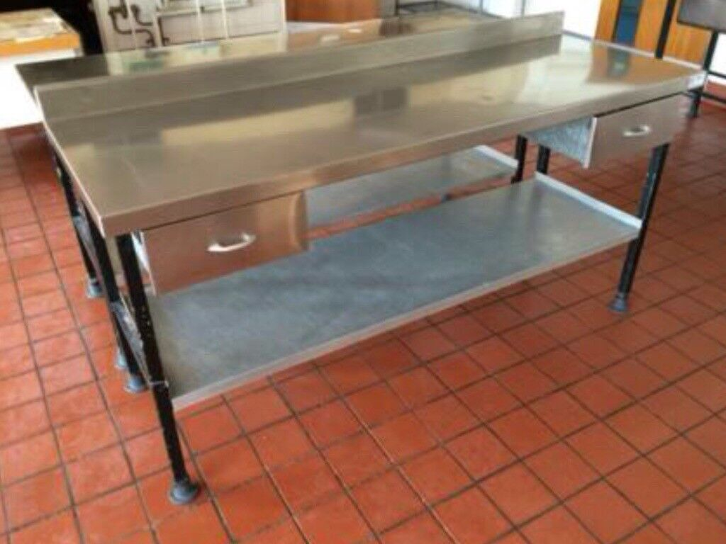 Stainless preparation tables £130 each