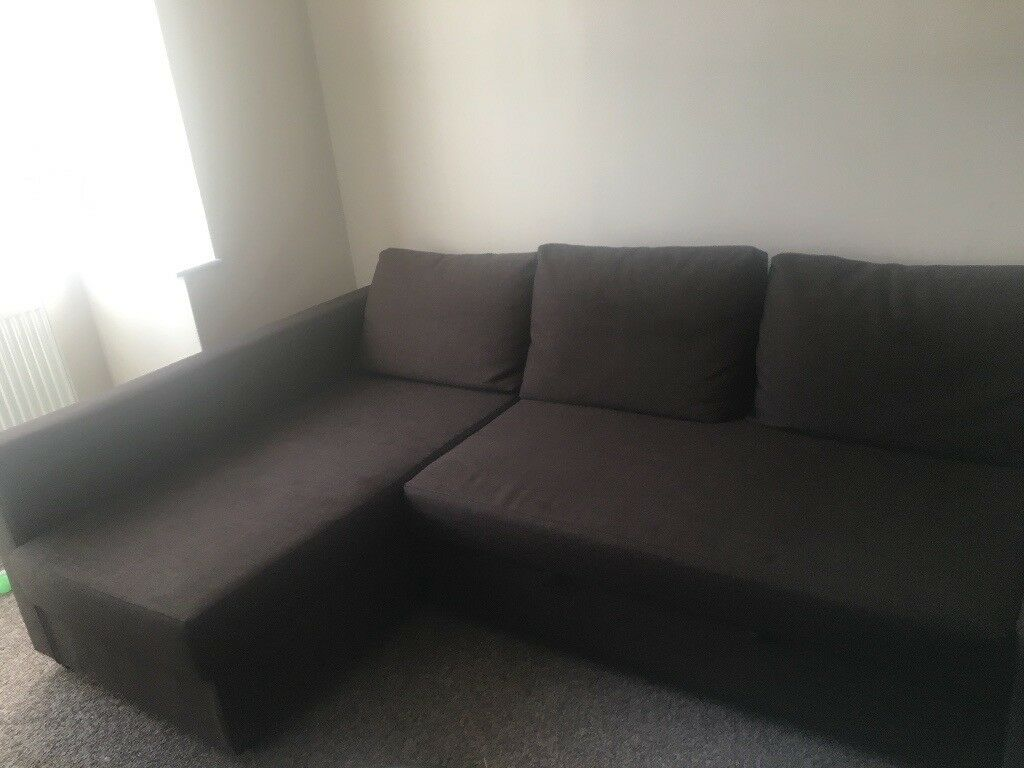 IKEA Corner Sofa-Bed with storage (FRIHETEN)