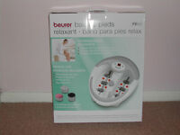 BEURER FB50 LUXURY FOOT BATH SPA WITH WATER HEATER