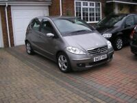 (2008) MERCEDES A180 CDI AVANTGARDE SE MET/GREY (54000 MILES ONLY FSH SPOTLESS CONDITION THROUGHOUT)