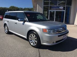 2010 Ford Flex Limited Leather Sunroof Chrome Wheels