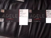 FOR SALE 2 X ADELE TICKETS IN HAND BLOCK 511 ROW 6