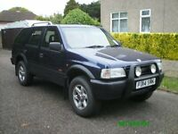 Vauxhall Frontera TDS Estate . 4+4 in Great condition.