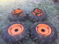 Kubota dual wheels