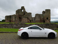 2004 White Nissan 350z with 12 months MOT