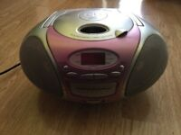 Durabrand Portable Radio And CD player