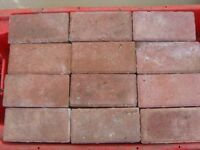 BRADSTONE RED BLOCK PAVING 220 BLOCKS (200X100X50MM) NEW PURCHASED NOT USED
