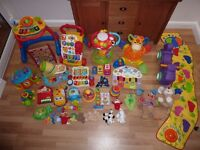 Massive bundle of baby preschool toy bundle - educational electronic toys