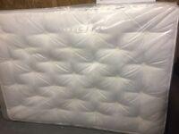Double mattress 4 ft 6 new