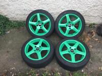 "Ford escort,fiesta,Focus,Puma,15"" inch alloys,£200"