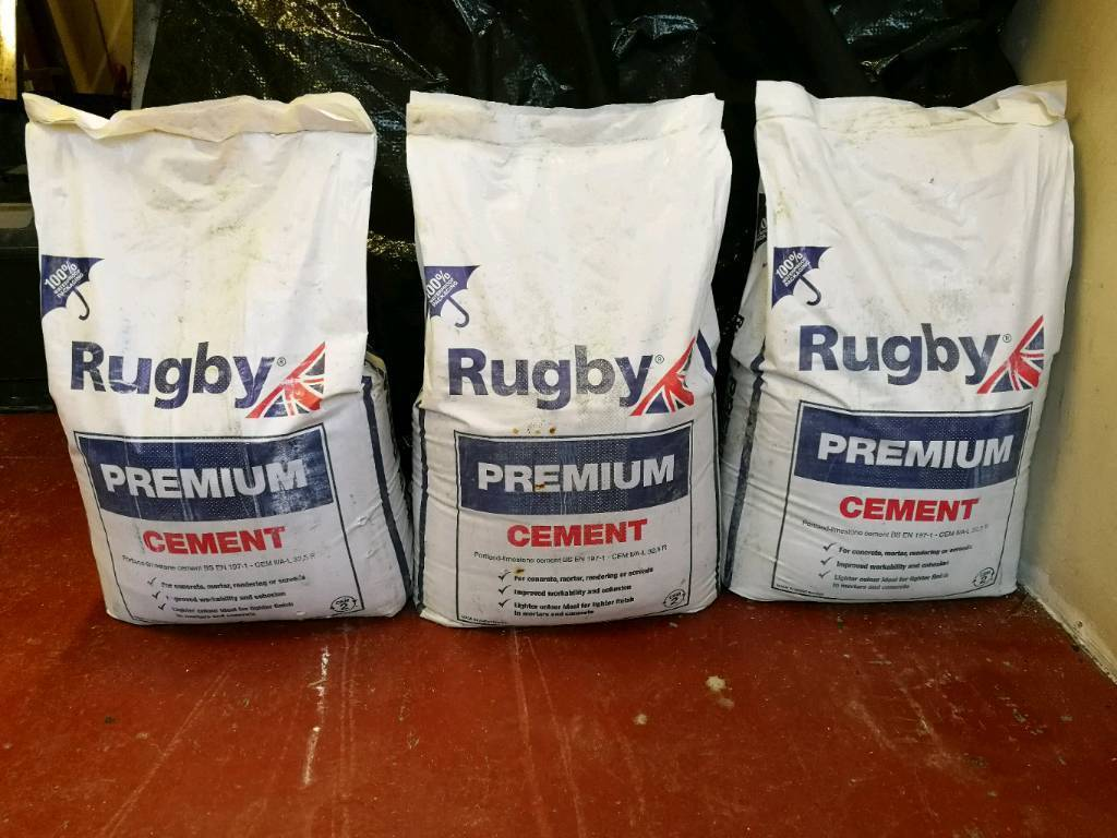 3 bags of cement